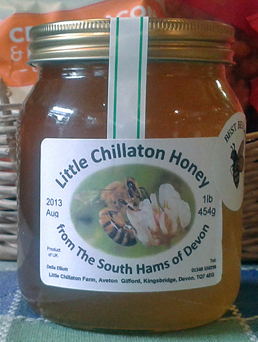 1 pound jar of local honey for sale online