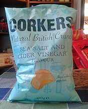 Sea Salt and Cider Vinegar Crisps