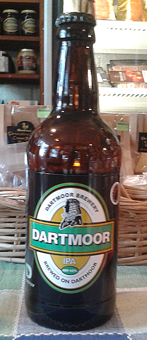 Devon ale brewed on Dartmoor