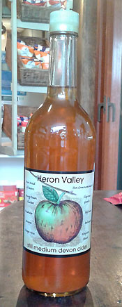 Heron Valley Bottle Cider