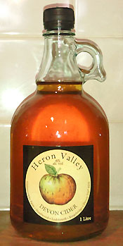 Devon cider flagon
