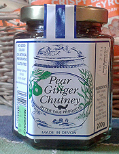 Pear and Ginger
