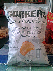 Sea Salt and Black Pepper Crisps